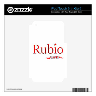 Marco Rubio 2016 Skins For iPod Touch 4G