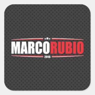 Marco Rubio 2016 (Stars & Stripes - Black) Stickers