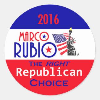 Marco RUBIO 2016 Sticker