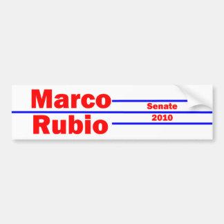 Marco Rubio 4 Pegatina Para Auto