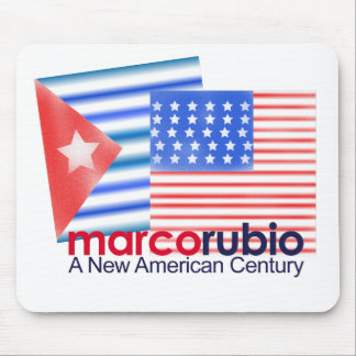 Marco Rubio A New American Century Mouse Pad