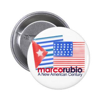 Marco Rubio A New American Century Pinback Button