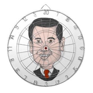 Marco Rubio Caricature Dart Boards