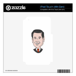 Marco Rubio Caricature iPod Touch 4G Decal