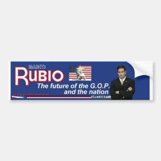 Marco Rubio, el futuro del G.O.P. Pegatina Para Auto