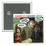 Marco Rubio for President 2016 Buttons