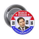 Marco Rubio for President 2016 Pinback Button