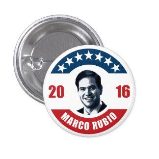 Marco Rubio for president 2016 Pinback Button