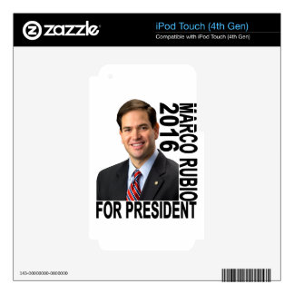 MARCO RUBIO FOR PRESIDENT 2016 ''.png Skin For iPod Touch 4G