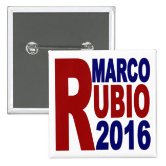 Marco Rubio for President 2016 Square Button