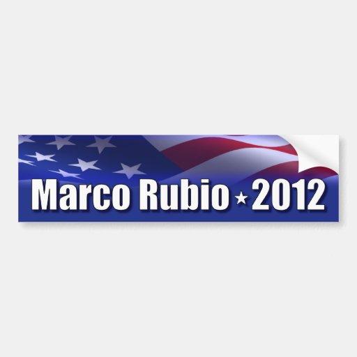 Marco Rubio for President Bumper Sticker