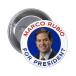Marco Rubio For President Buttons