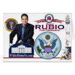 Marco Rubio for President Card