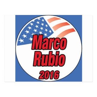 Marco Rubio for president in 2016 Postcard