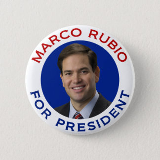 Marco Rubio For President Pinback Button