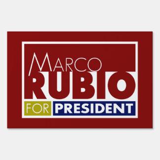 Marco Rubio for President V1 Signs
