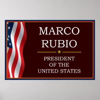 Marco Rubio for President V3 Poster