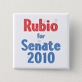 Marco Rubio for Senate 2010 Star Design Button