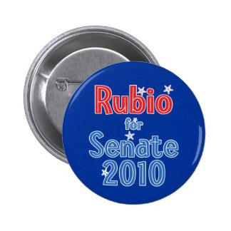 Marco Rubio for Senate 2010 Star Design Pinback Button