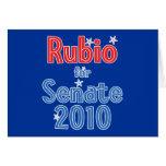 Marco Rubio for Senate 2010 Star Design Cards