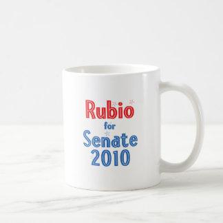Marco Rubio for Senate 2010 Star Design Classic White Coffee Mug
