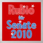 Marco Rubio for Senate 2010 Star Design Print