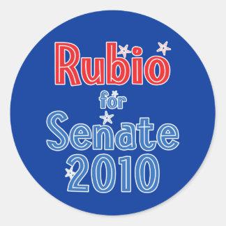 Marco Rubio for Senate 2010 Star Design Sticker