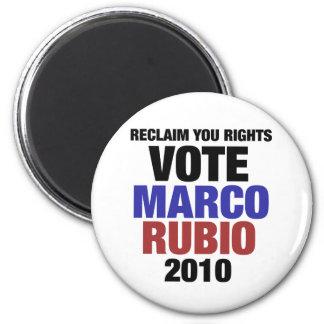 Marco Rubio for senate Refrigerator Magnet