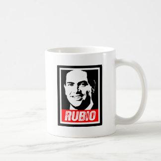 MARCO RUBIO INK BLOCK-.png Classic White Coffee Mug