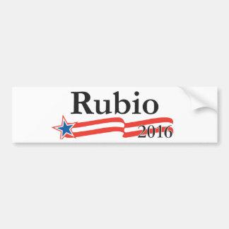 Marco Rubio para el presidente 2016 Etiqueta De Parachoque