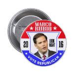 Marco Rubio para el presidente 2016 Pins