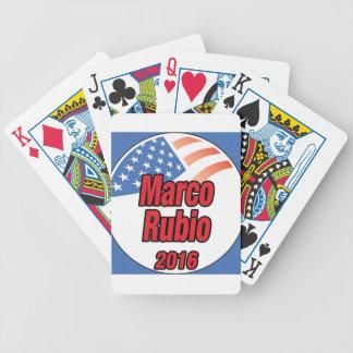 Marco Rubio para el presidente en 2016 Barajas De Cartas