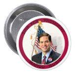 Marco Rubio para el presidente en 2016 Pin