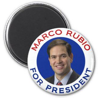 Marco Rubio para el presidente Imán Para Frigorífico