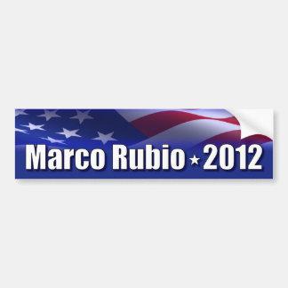 Marco Rubio para el presidente Pegatina Para Auto