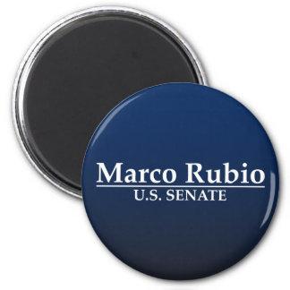 Marco Rubio para el senado de los E.E.U.U. Imán Redondo 5 Cm