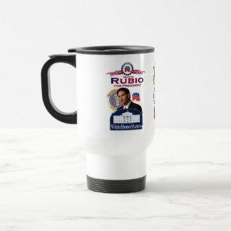 Marco Rubio para presidente Ringer Mug Taza De Café