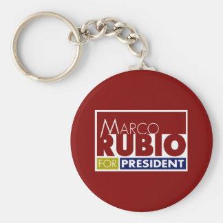 Marco Rubio para presidente V1 Llavero Redondo Tipo Pin