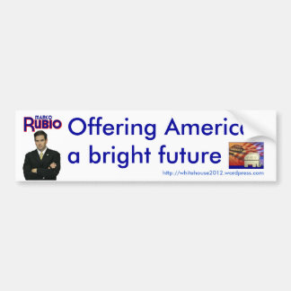 Marco Rubio Pegatina Para Auto