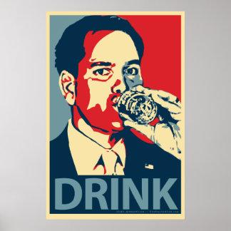 Marco Rubio - poster de la parodia de Obama de la