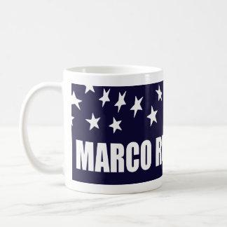 Marco Rubio President 2016 American Flag Coffee Mug