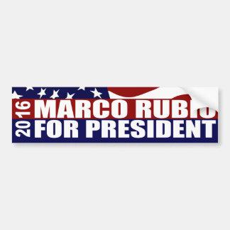 Marco Rubio President 2016 Bumper Sticker