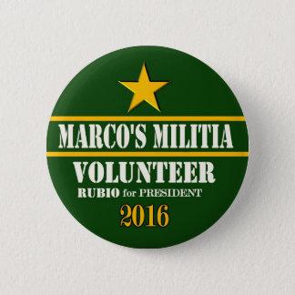 Marco Rubio President 2016 Button