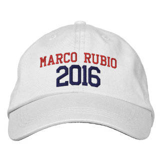 Marco Rubio President 2016 Embroidered Baseball Cap