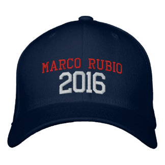 Marco Rubio President 2016 Embroidered Baseball Hat
