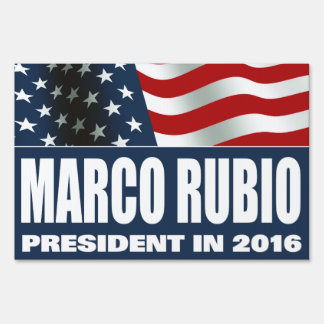 Marco Rubio President 2016 Sign