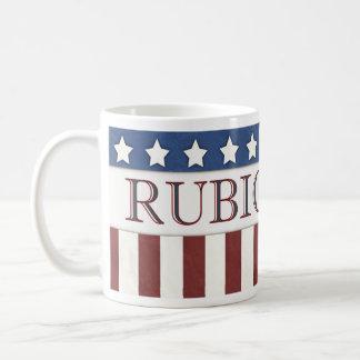 Marco Rubio President 2016 Stars and Stripes Basic White Mug