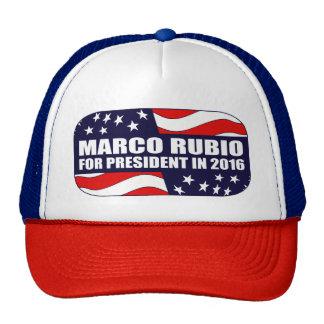 Marco Rubio President 2016 Trucker Hat