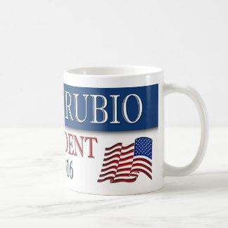 Marco Rubio President 2016 USA Flag Classic White Coffee Mug