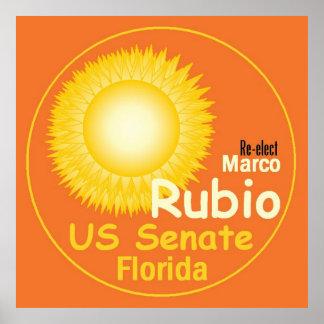 Marco RUBIO Senate 2016 Poster